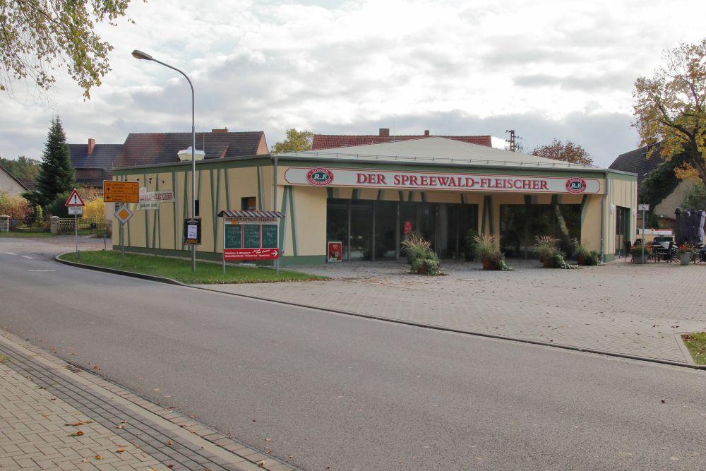 Neubau für den Spreewaldfleischer