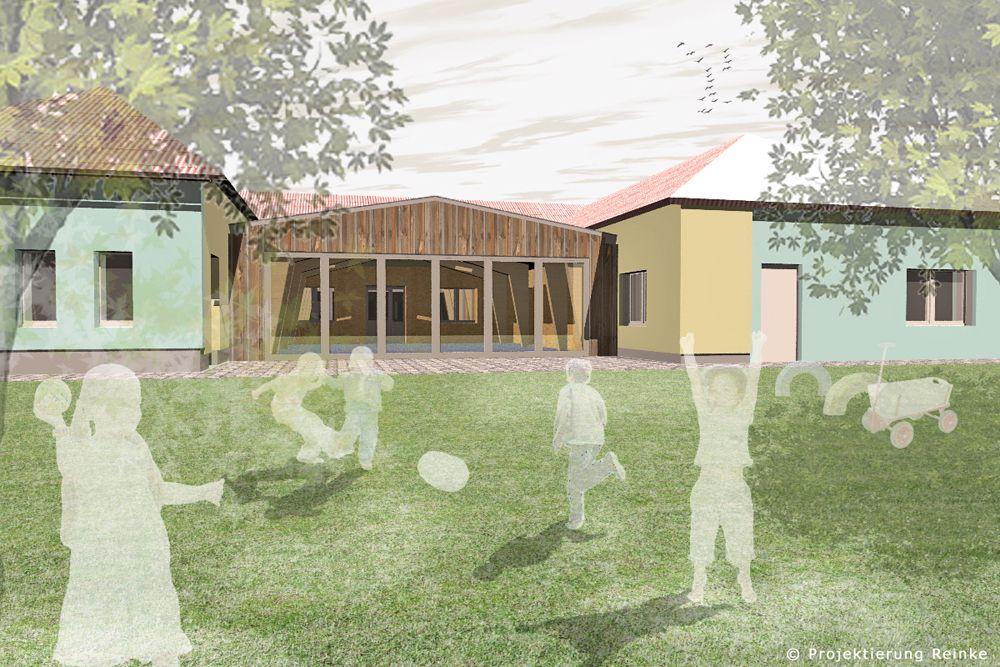 Umbau von Kindergärten